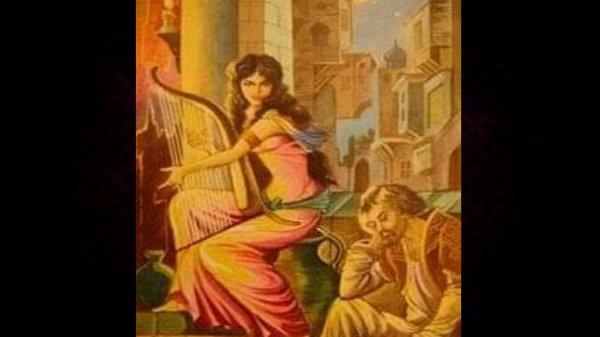 কবির কল্পনায় কাল্পনিক সাকি (ছবি-সম্পাদিত)