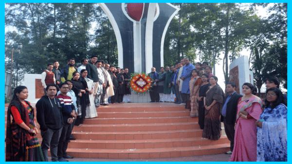 নোবিপ্রবিতে শহীদ বুদ্ধিজীবী দিবস পালিত