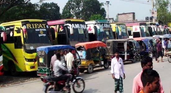 করোন: ঢাকা-রাজশাহী বাস চলাচল বন্ধ